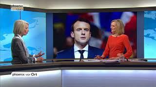 Elisabet Cadot zum Besuch von Emmanuel Macron bei Angela Merkel am 19.04.18