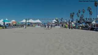 2014 AVP Manhattan Beach Open Semi-Final, Dalhausser/Rosenthal vs. Bourne/Hyden