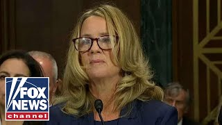 How did reporters get Dr. Christine Ford