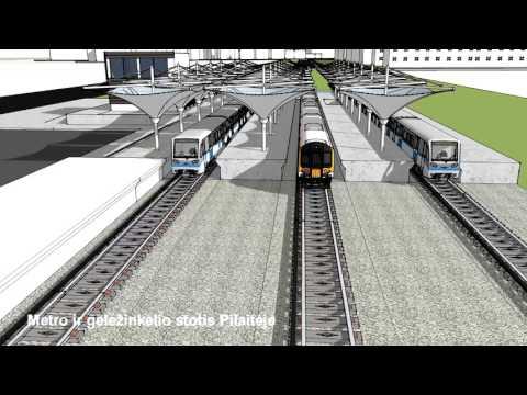 Vilniaus metro vizija