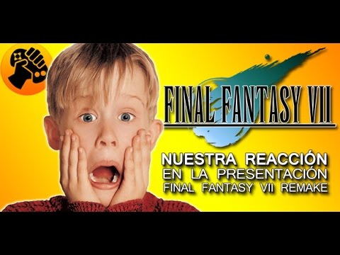 Nuestra Reacción al anuncio de Final Fantasy VII Remake