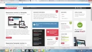 How to Install JA Elastica (Joomla 3) on Xampp