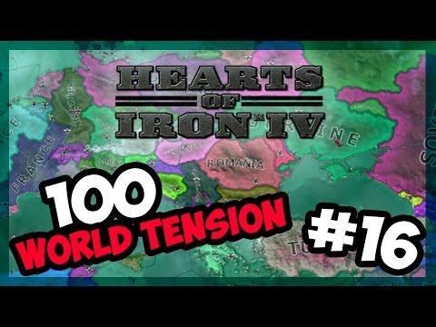 MOROCCO STRONK | Hearts of Iron IV - 100 World Tension - Modern Day - E.16