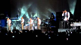 New Edition - Johnny Gill - My My My & Bobby Brown - Roni - 9/21/2012 Bilo Center Greenville, SC