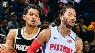 Detroit Pistons vs Atlanta Hawks - Full Game Highlights   January 18, 2020   2019-20 NBA Season