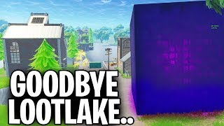 CUBE IS DESTROYING LOOT LAKE LIVE!! MOVING IN 1 MIN!
