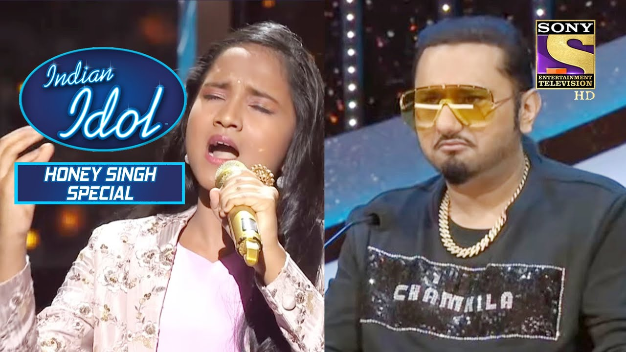 Anjali की मध�र गायकी से Shock ह�� Honey Singh | Indian Idol Season 12 | Bollywood Mix Performances