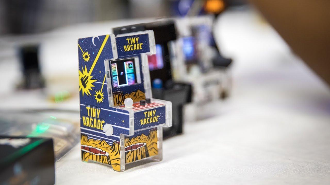 a812058947fa5 Tiny Playable Arcade Cabinet Kit Youtube