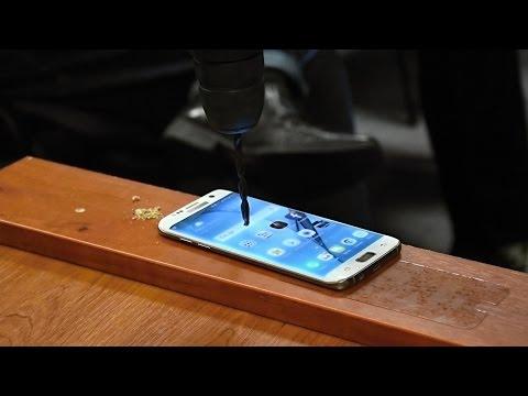 Crash Test: Samsung Galaxy S7 edge, Apple iPhone 6, Caterpillar S40 a Dell Latitude 14 Rugged 5404