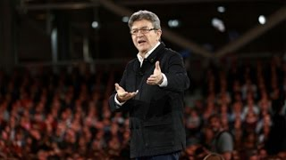France's Left Presidential Candidate Melenchon Rising Rapidly in Polls