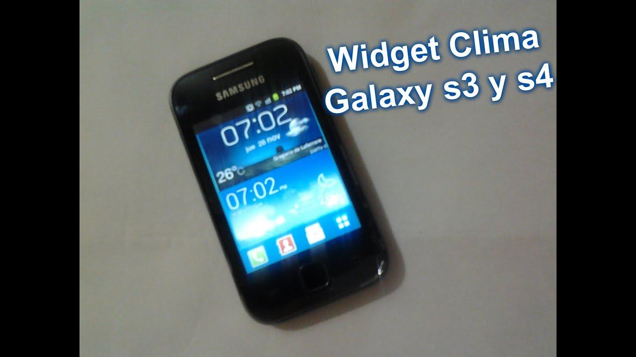 Samsung galaxy s2 widgets download