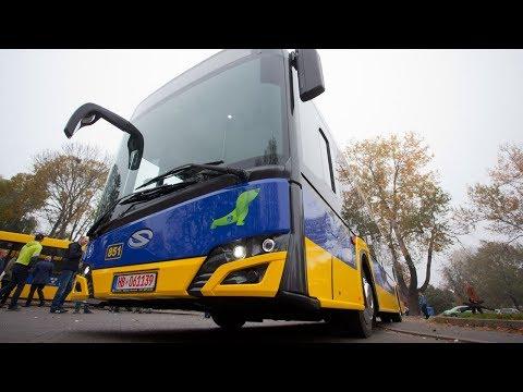 Pierwszy autobus hybrydowy Solaris w Pabianicach