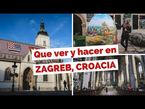 10 Cosas Qué Ver y Hacer en Zagreb, Croacia | Guía de Viaje y Turismo