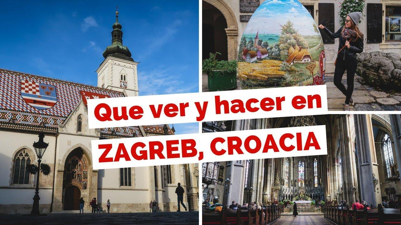 Mapa Turistico Zagreb En 2020