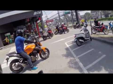 Ride My Duke Motovlog Thailand, Road trip de Pattaya à Rayong avec la Pattaya Bikers Official Team