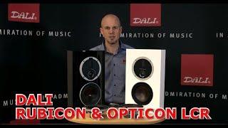 RUBICON und OPTICON LCR Lautsprecher von DALI Lautsprecher TV