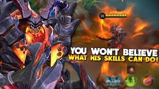 NEW HERO THAMUZ GAMEPLAY & SKILLS EXPLAINED! Mobile Legends
