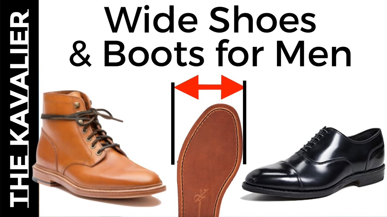 Shoes For Wide Feet | Wide Dress Shoes