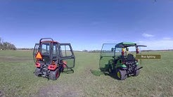 John Deere 1025R vs. Kubota BX – Cab Comparison