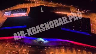Торговый центр OZ-молл, г. Краснодар - ночью и днём