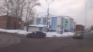 Павловский Посад, автобус 56, участок Рахманово - Стадион Юность thumbnail