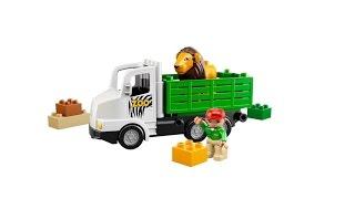 Lego Duplo Zoo Truck 6172 Building