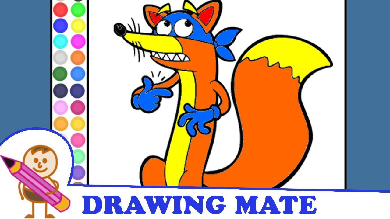 Dora coloring pages kids colouring sheets ♥ kolorowanki malowanki dla dzieci dora poznaje świat youtube