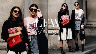 COME WITH US TO LONDON FASHION WEEK! LFW VLOG | TWICE BLESSED