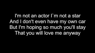 THE ACTOR | HD With Lyrics | MICHAEL LEARNS TO ROCK by Chris Landmark
