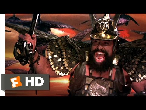 Flash Gordon (9/10) Movie CLIP - Hawkmen Vs. Ajax (1980) HD
