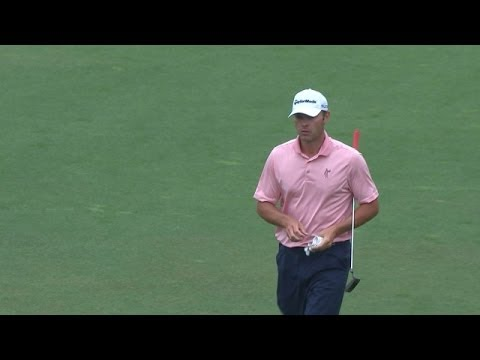 Shawn Stefani's pitch to inches yields birdie on No. 15 at Shell