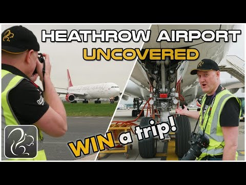 I Went to the RESTRICTED Areas of Heathrow - and YOU can too! (Britain
