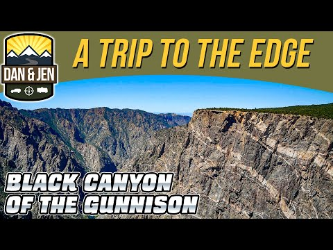 BLACK CANYON Of The GUNNISON National Park - Colorado - River Gorge - Vertical Cliffs - Amazing View