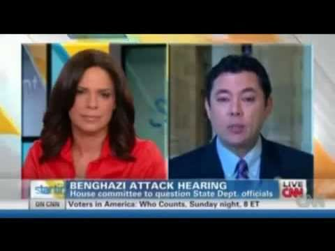 Republican Jason Chaffetz (R-Utah) admits the GOP cut embassy security funding on CNN interview.