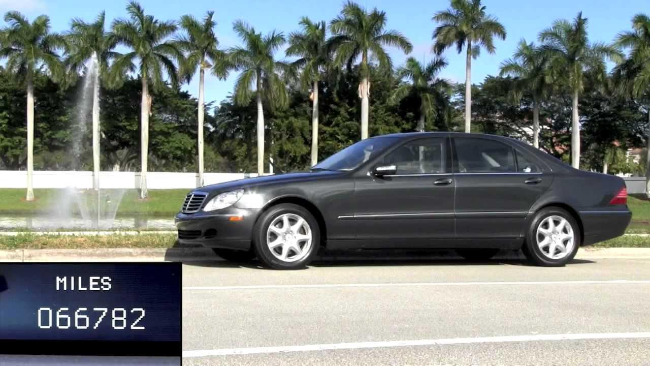 2004 mercedes benz s430 black opal metallic autos of palm for 2004 mercedes benz s430