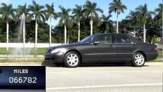 2004 Mercedes-Benz S430 Black Opal Metallic Autos of Palm Beach A2919