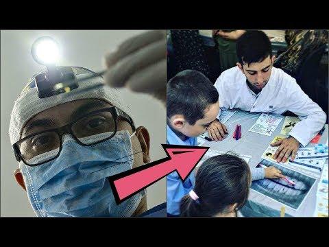Гордость России! Студент-стоматолог потратил  400 тыс. руб. на жителей родной глубинки. Поразительно