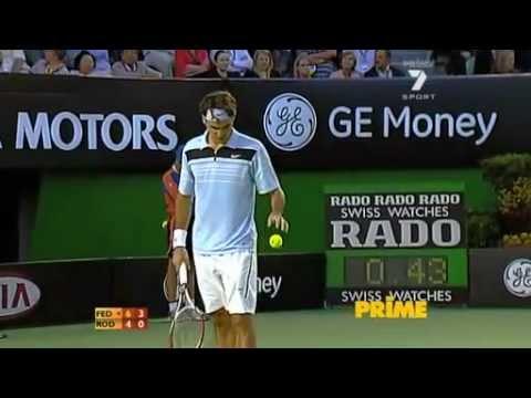 2007 Australian Open SF Federer v Roddick