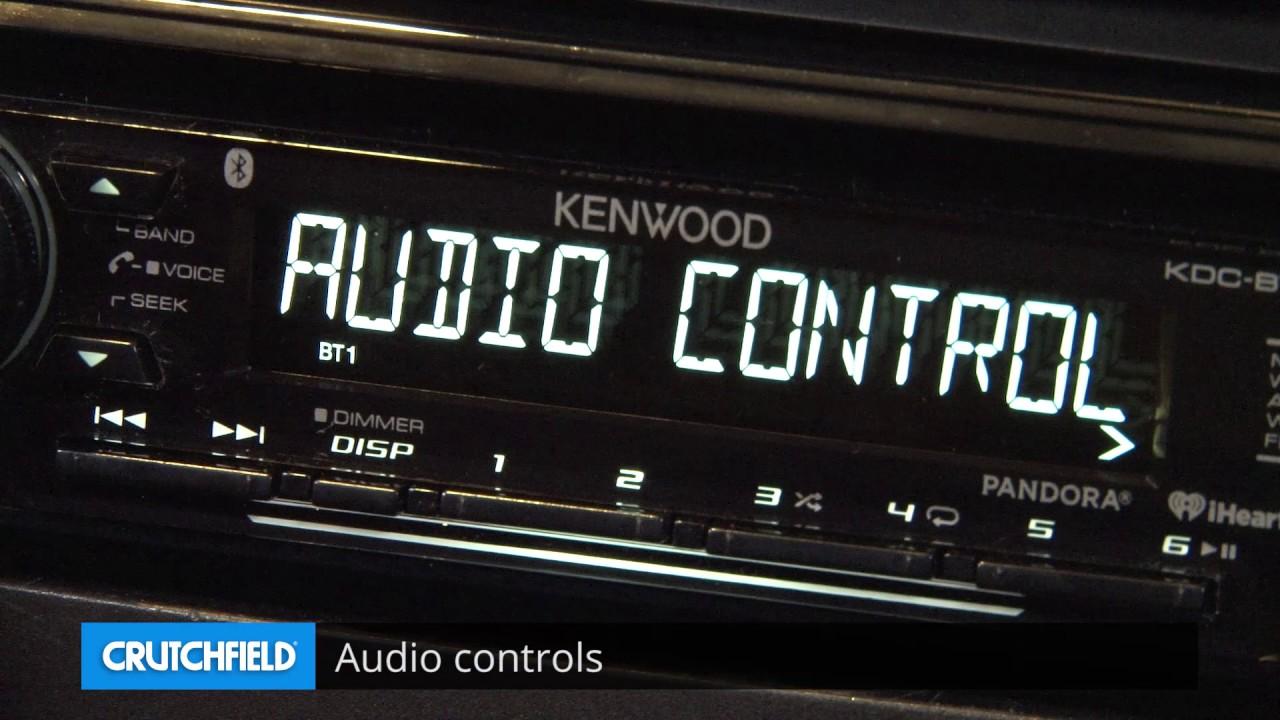 Kenwood Kdc Bt268u Display And Controls Demo Crutchfield Video Youtube