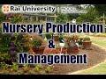 Nursery Production & Management - Basics of Gardening
