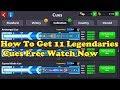 FREE 11 LEGWNDARIES CUES CHECK DISCRIPTION / KS GAMING 8BP