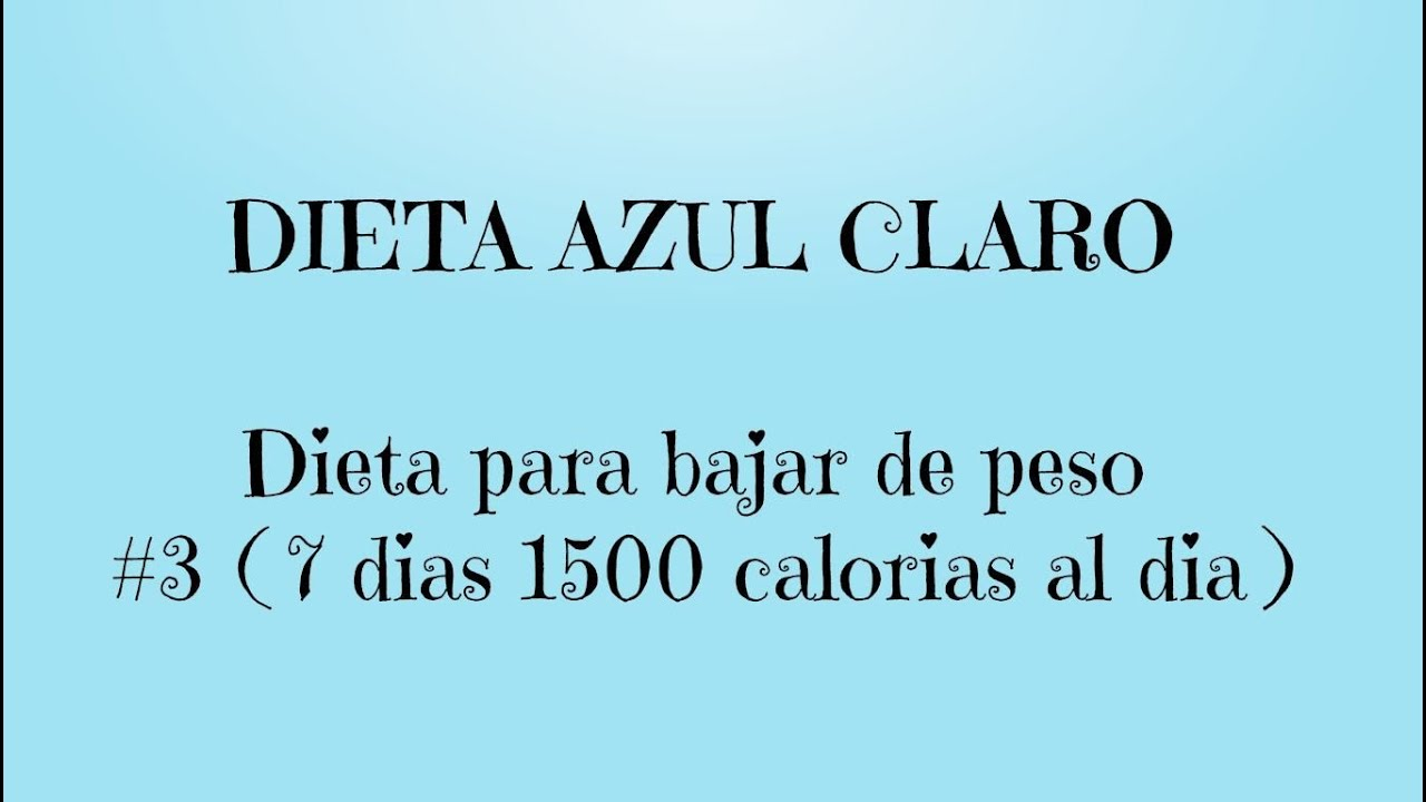 Recetas para dieta 1500 calorias