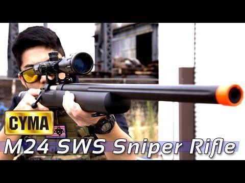 CYMA M24 Sniper Rifle [The Gun Corner] Airsoft Evike.com