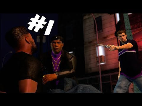 CREATING A GANG MEMBER AND GETTING JUMPED INTO THE SAINTS! - Saints Row Gameplay Walkthrough Part 1