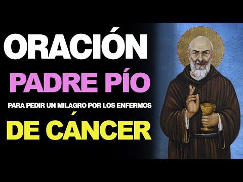 🙏 Oración al Padre Pío para Pedir un Milagro PARA LOS ENFERMOS DE CÁNCER 🤒
