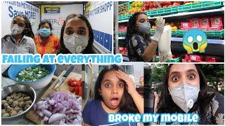 Struggling at every other thing|Broke my mobile?😱|Pointless vlog|gopsvlog