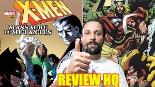 Review [quadrinhos]: X-men Massacre de Mutantes