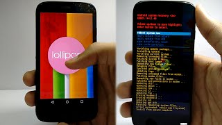 How to Install OFFICIAL Android 5.0 Lollipop on Moto G 2013 (First Gen Xt1033 Lollipop 5 Ota File)