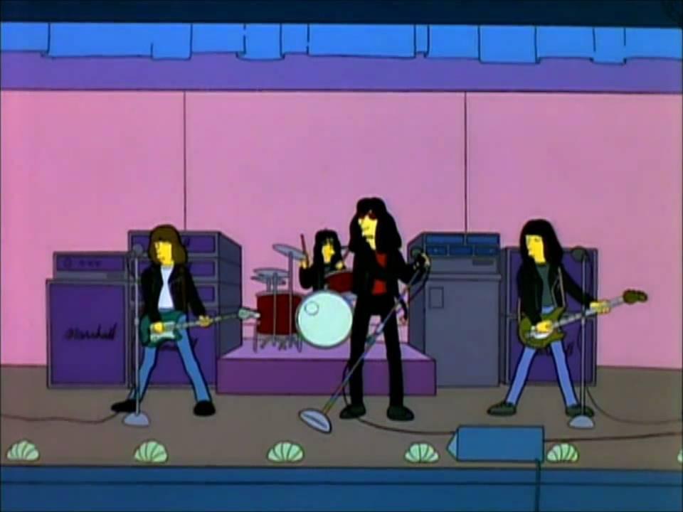 Ramones Happy Birthday From The Simpsons Youtube