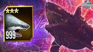 WORLD BOSS COLOSSUS 04 VS LVL 999 MEGALODON! - Jurassic World The Game - *WORLD AQUATIC BOSS* HD